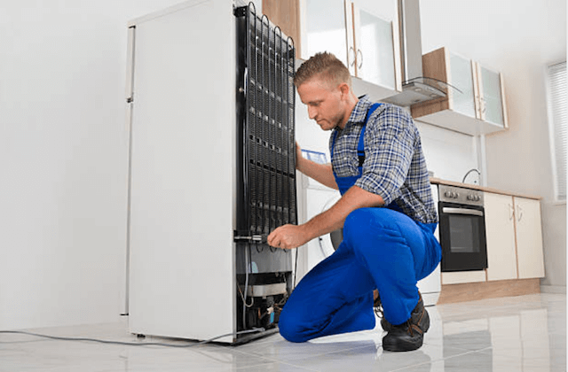 reading appliance repairman